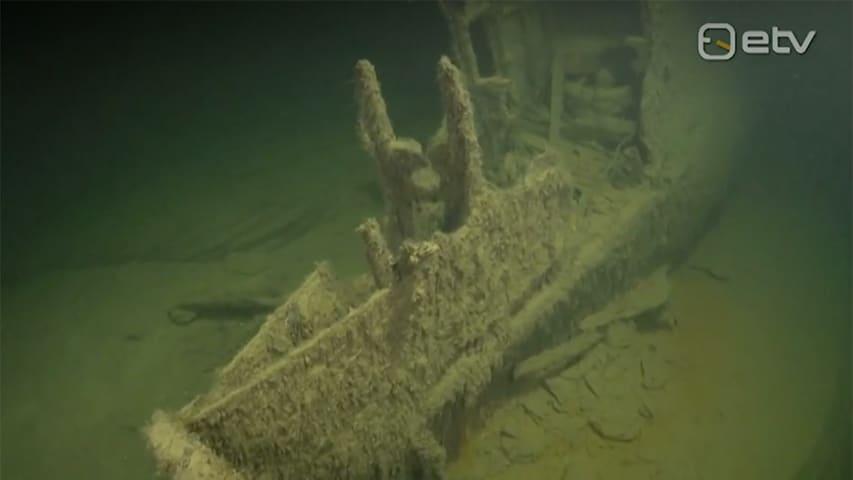 Morze Bałtyckie zatopiony wrak