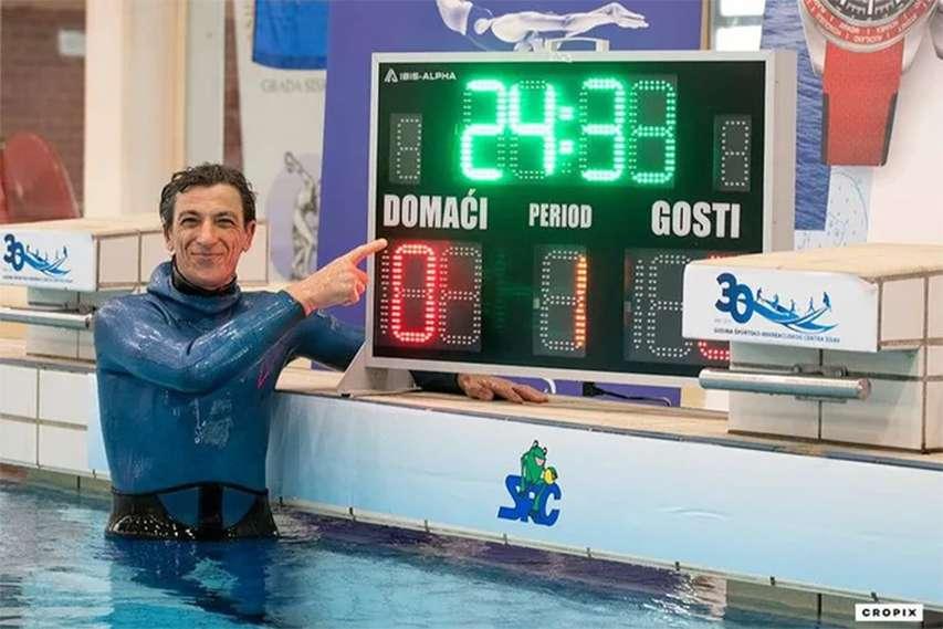 rekord świata Budimir Sobat