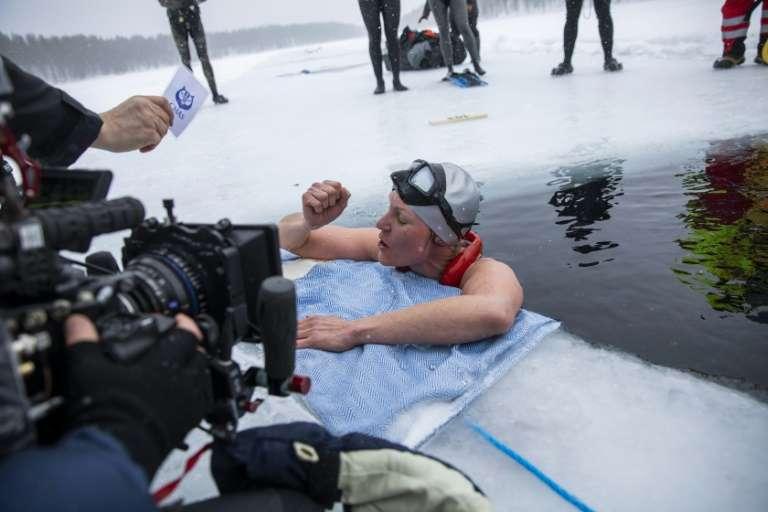 Freediving rekord świata DNF Johanna Nordblad