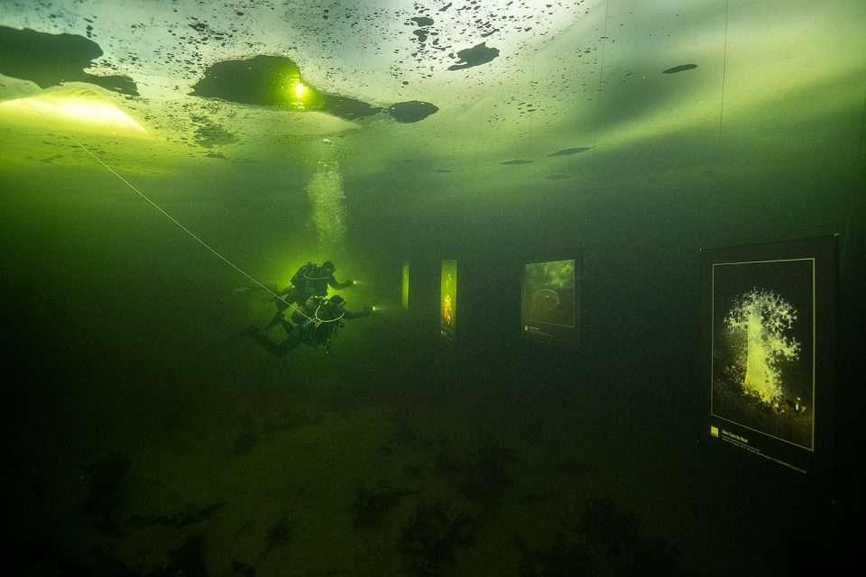 nurkowanie pod lodem Morze Białe