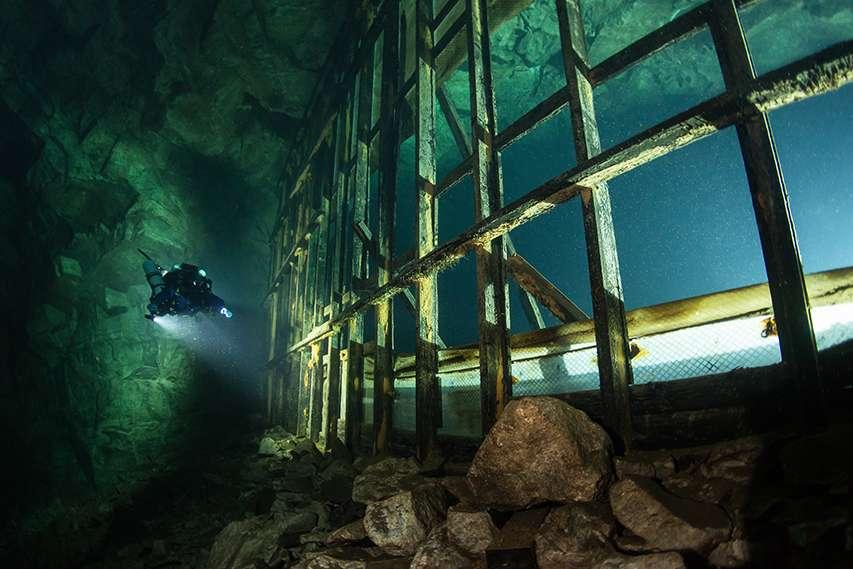 Śmiertelny wypadek nurkowy w zalanej fińskiej kopalni Montola