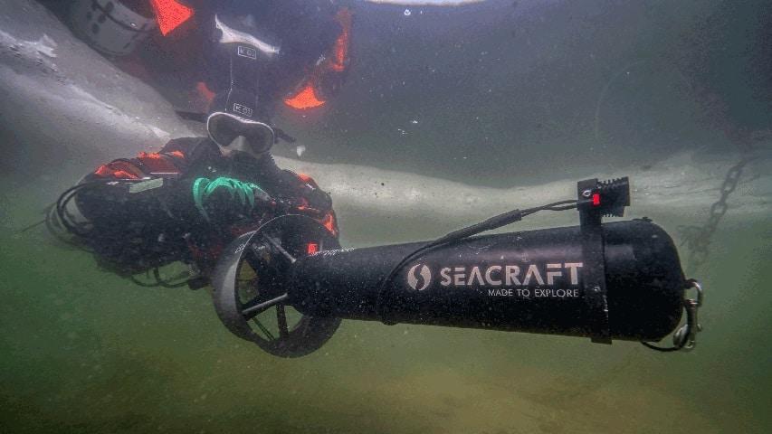 oświetlenie do skutera nurkowego Seacraft