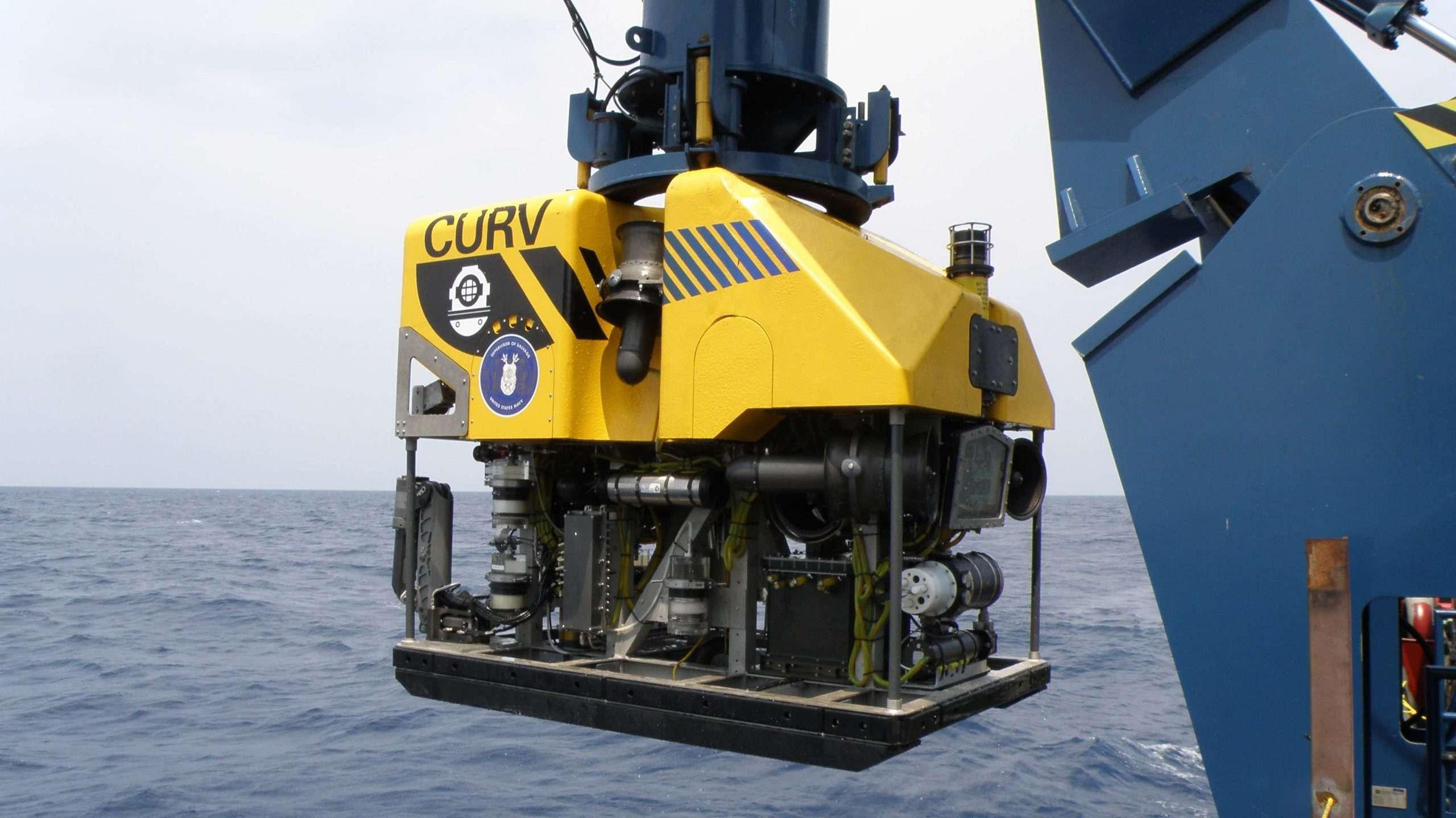 Robot CURV do pracy na dużych głębokościach