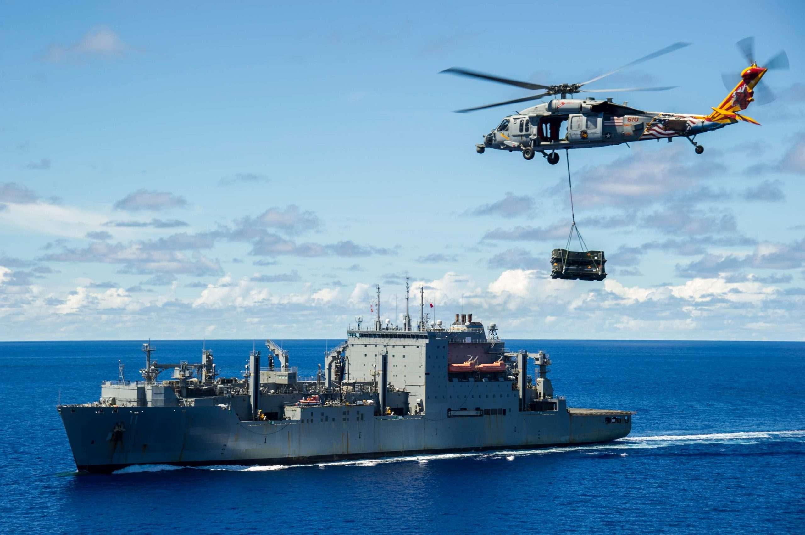Jednostka ratownicza do wydobycia wraku wojskowego śmigłowca