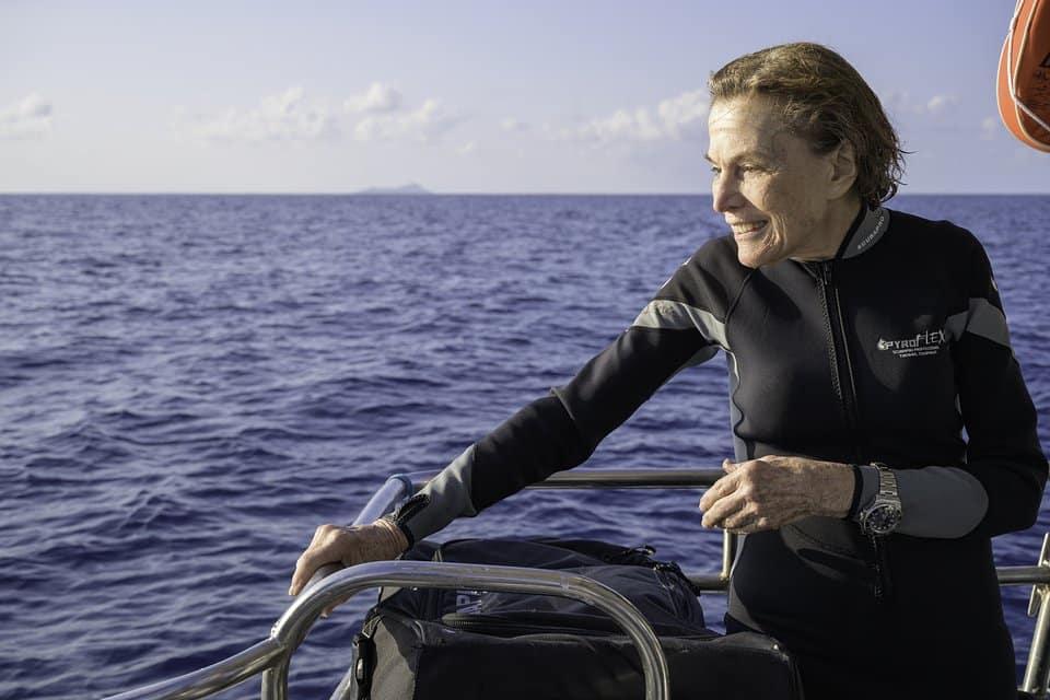 Amerykańska oceanograf Sylvia Earl