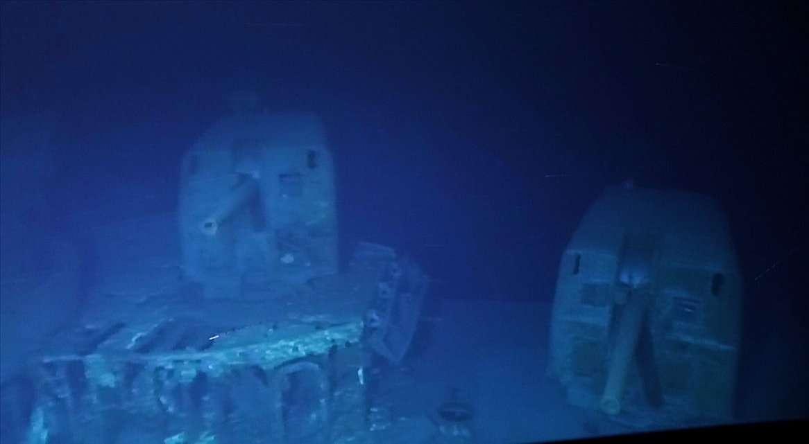 Działa niszczyciela USS Johnston