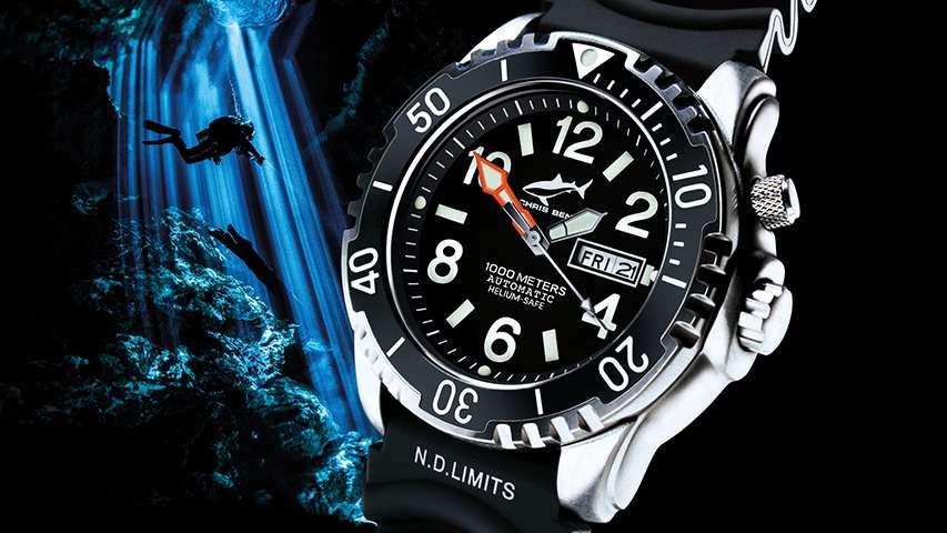 Chris Benz 1000M Deepsea Blue