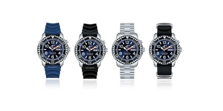 dostępne warianty 1000M Deepsea blue