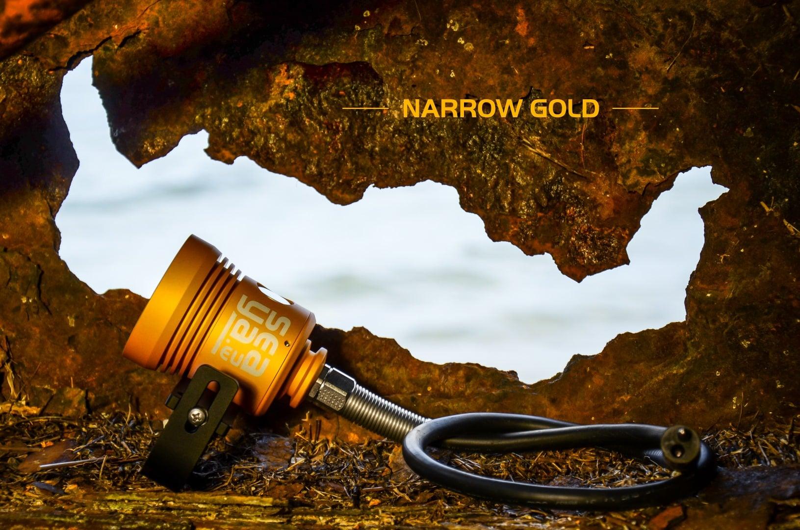 złota latarka SeaYa Narrow