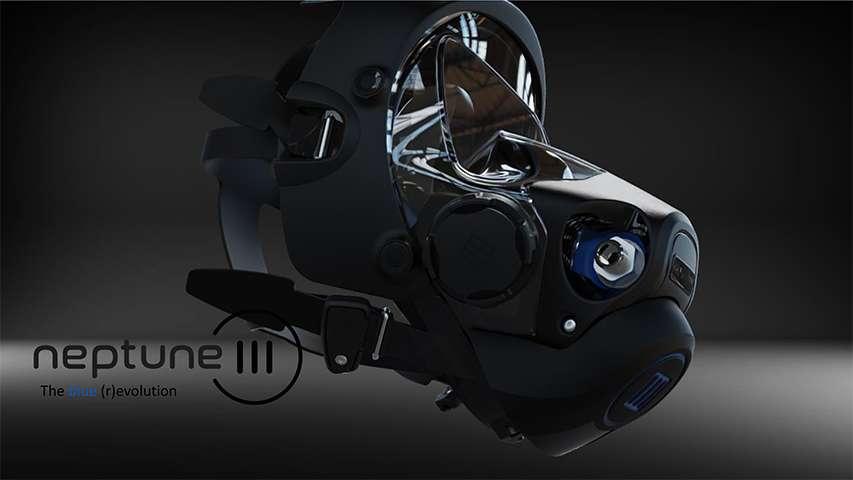 Maska Neptune III Ocean Reef
