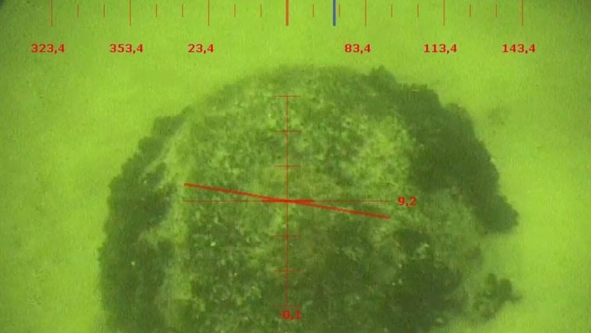 mina odnaleziona przez okry marynarki wojennej
