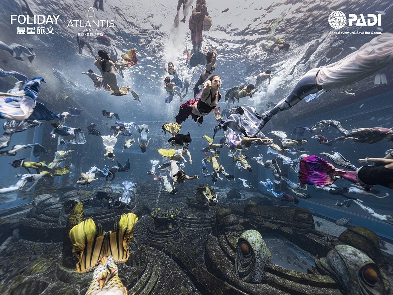Niesamowite syreny PADI Mermaid