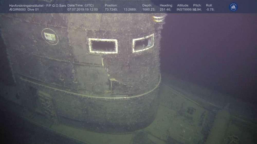 sowiecki wrak okrętu K-278