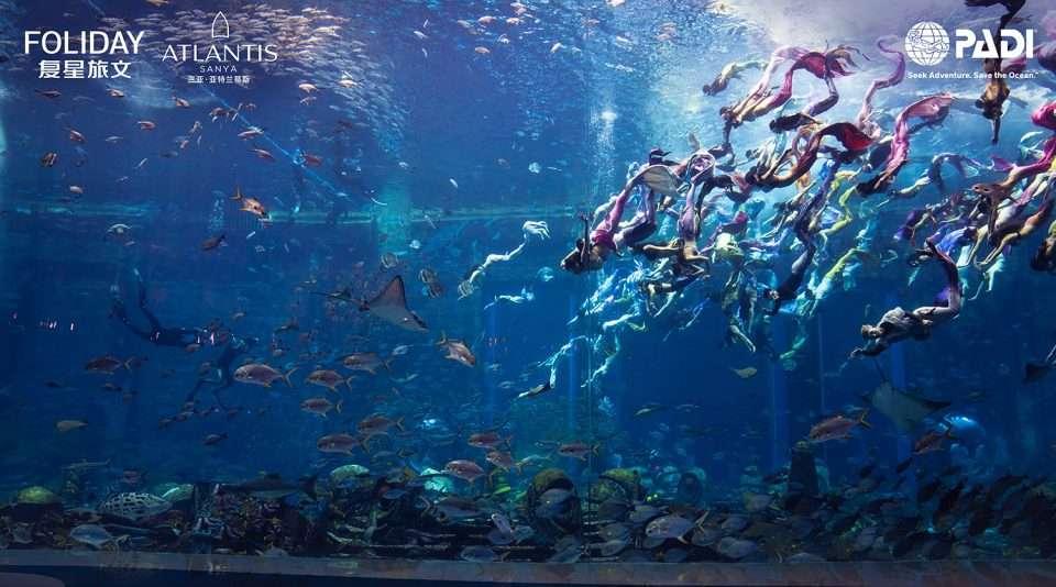 Pokaz PADI Mermaid Chiny