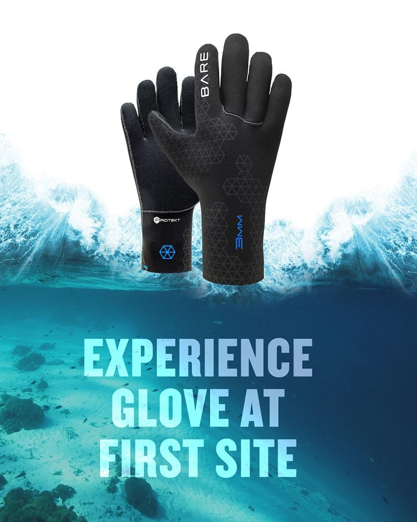 Rękawice do nurkowania BARE
