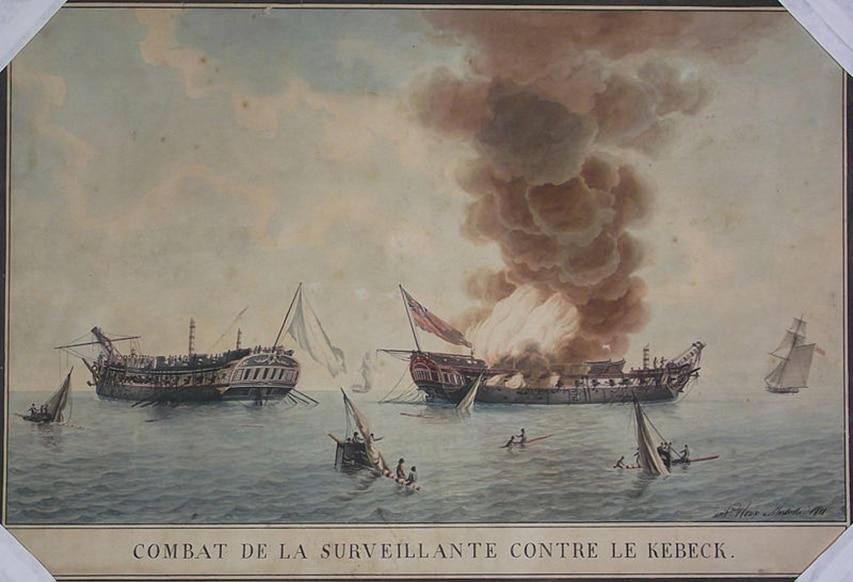 Le Surveilllante - historyczny obraz