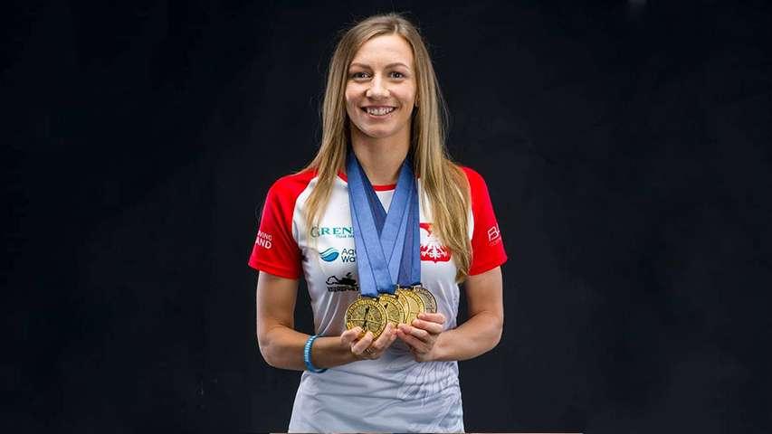 Dorobek medalowy Magdaleny Solich