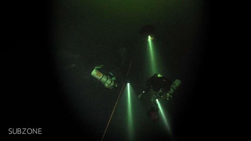 Grupa SubZone eksploruje wrak Leeni