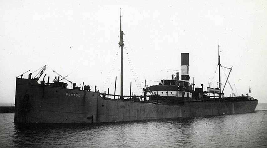 Archiwalne zdjęcie statek Leeni vel Dordrecht