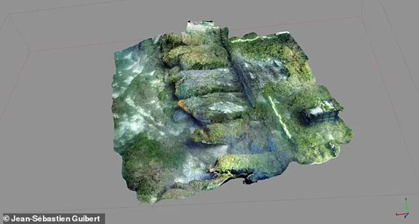 Dokumentacja 3D wraku okrętu