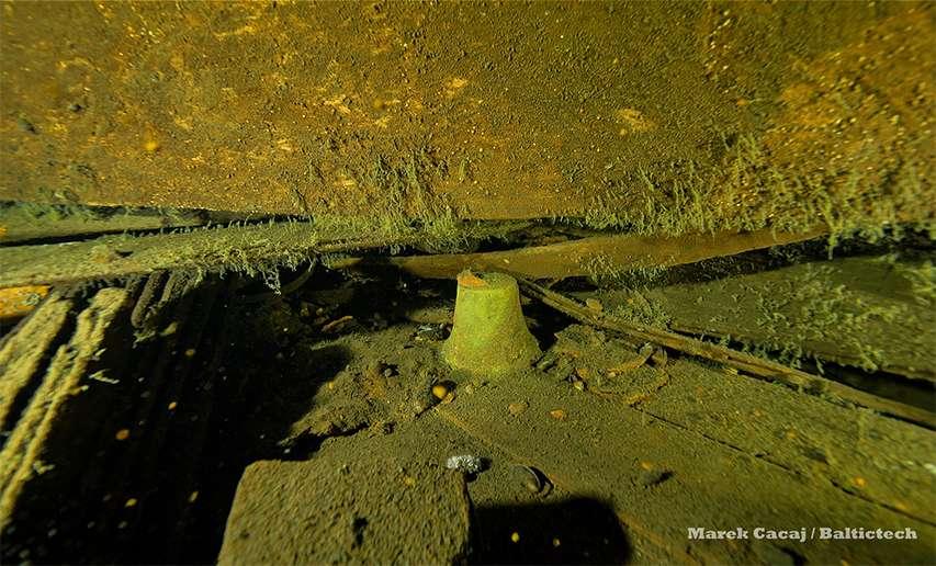 dzwon okrętu Goya odnaleziony na wraku