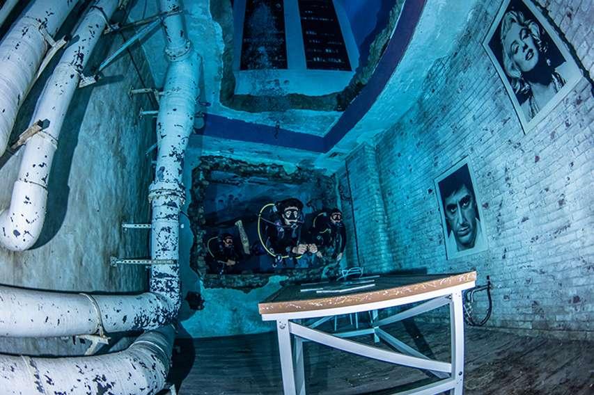 najgłębszy basen na świecie - Dubaj