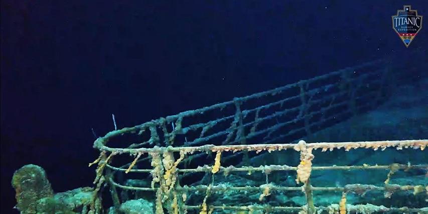 fragment wraku Titanica