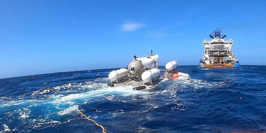 Pojazd podwodny OceanGate Titan