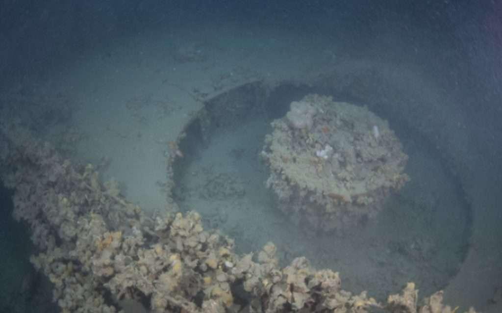 wrak B24 odkryty w Adriatyku
