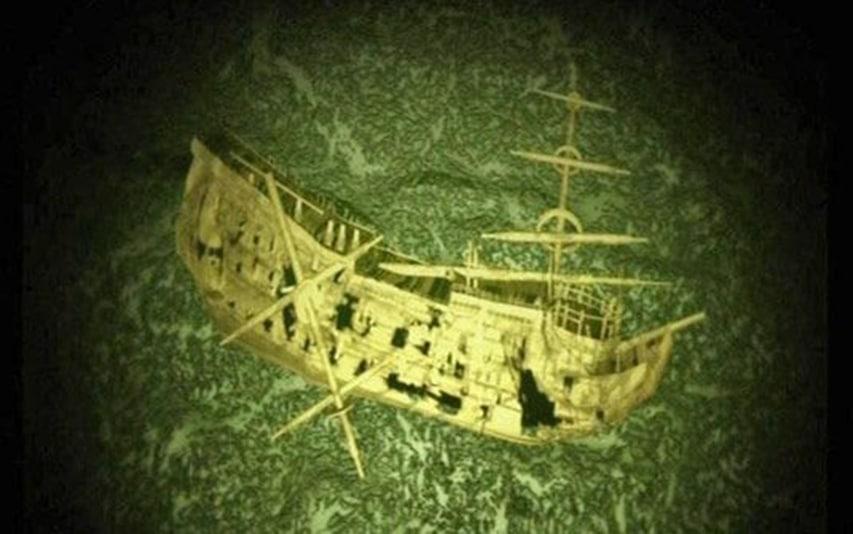 wrak okrętu London
