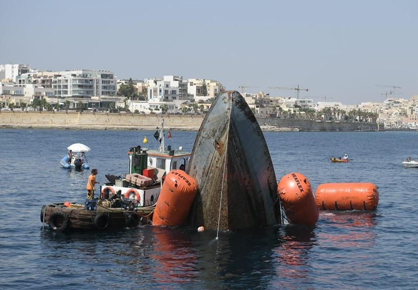 Nowy wrak na Malcie stał się faktem