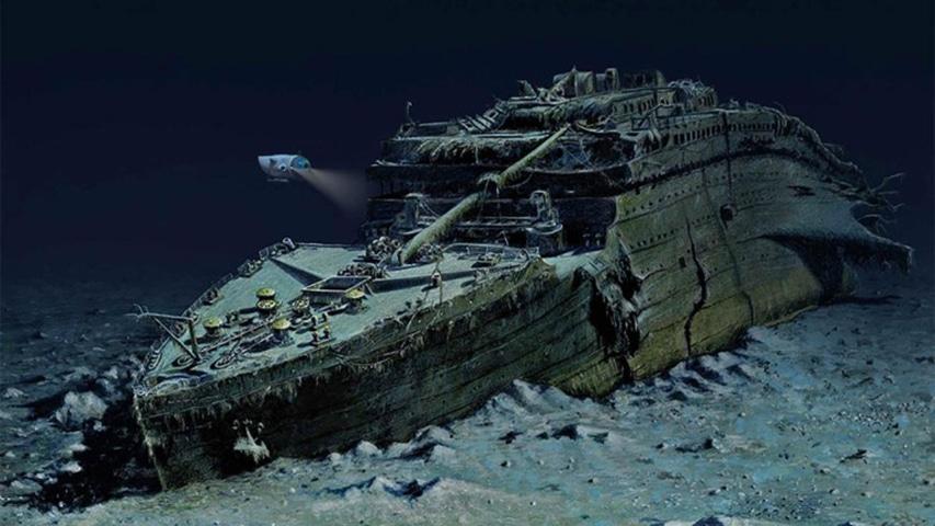 Łódź podwodna Titan i wrak RMS Titanic