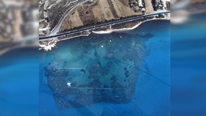 zatopiony port Amathus