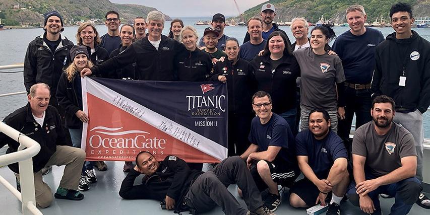 Badacze OceanGate Expedition 2021
