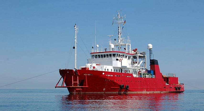 Jednostka Glomar Vantagefirmy Glomar Offshore na której wyruszy Baltictech