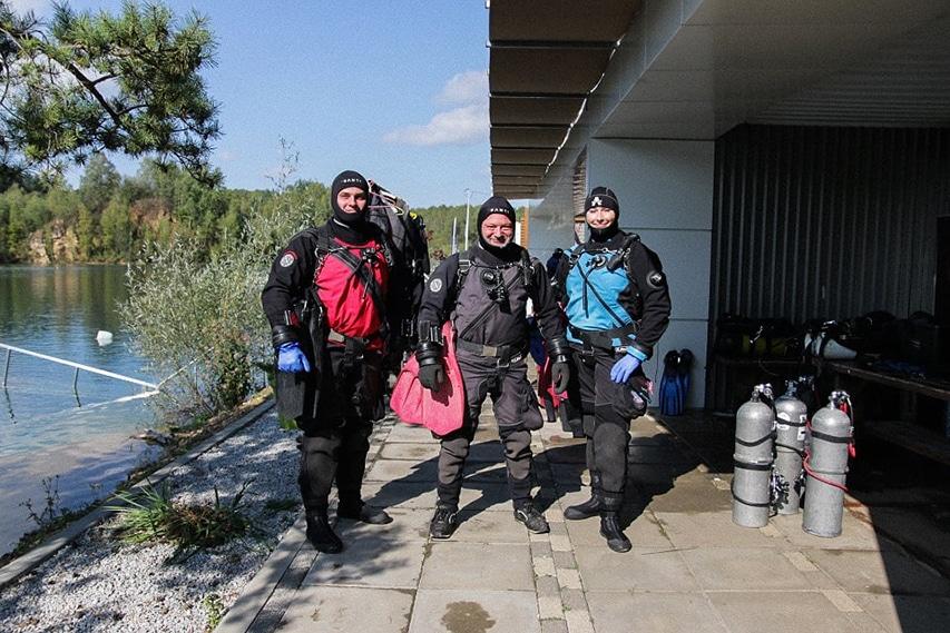 Nurkowie Black Angel Divers
