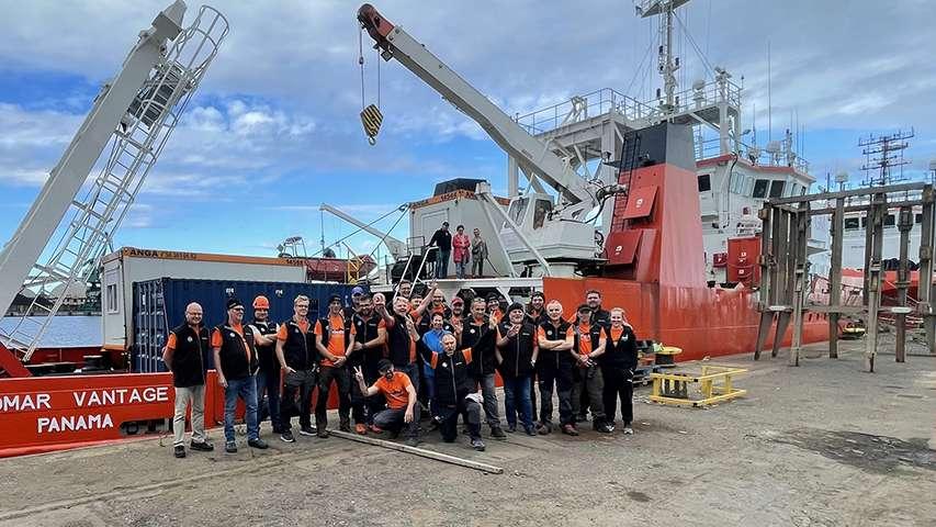 Ekspedycja do wraku niemieckiego statku Karlsruhe wyrusza z portu