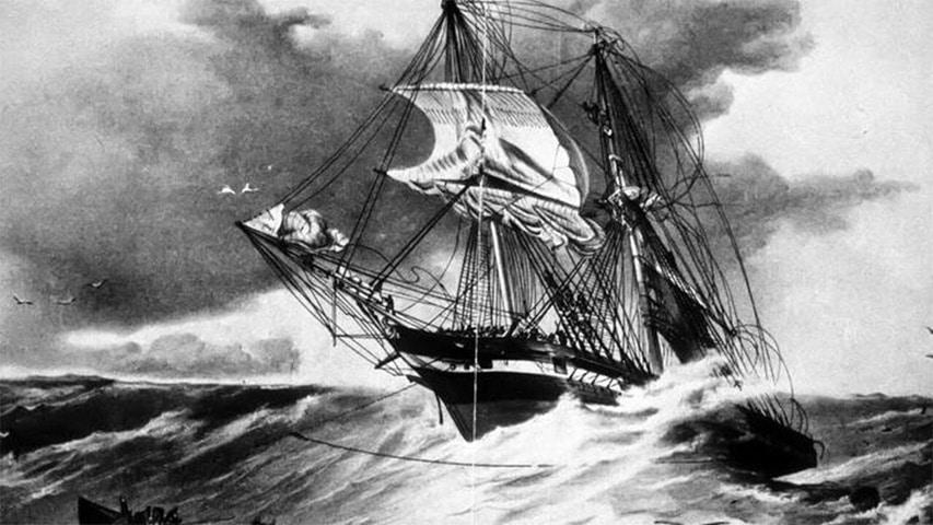 Wrak żaglowca HMS Sappho w Australii