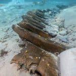 wrak starożytnego statku z II wieku p.n.e. Chorwacja wyspa Ilovik